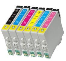 T0481-t0486 cartucho de tinta para epson stylus photo r200 r220 r300 r320 r340 r300m rx500 rx600 rx620 rx640 impresora