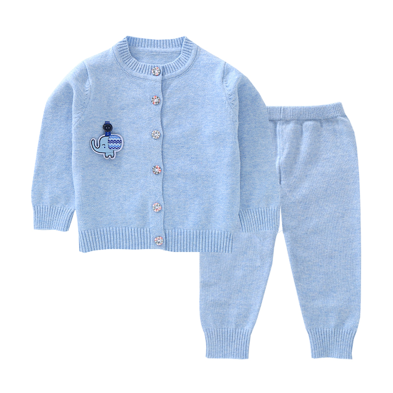 Baby Boy Knitted Set 12m