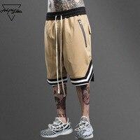 Aelfric Eden Bermuda Loose Mens Shorts Hip Hop Swag Zipper Shorts Hi Quality Male Boardshorts Multi