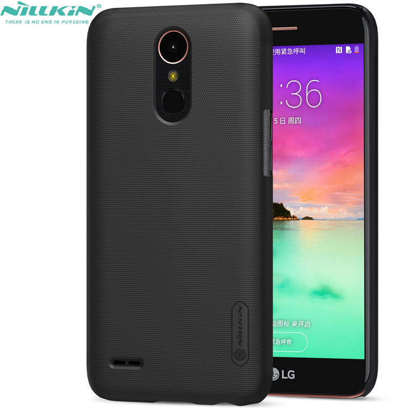 Nillkin Hard Back Cover For LG k10 2017 M250N K20 plus Frosted Shield Protective Phone Case for lg k10 (2017) X400
