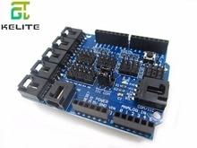 v5.0 Sensor Shield Sensor Shield V5 for ardui electronic building blocks robot accessories V5.0 expansion board
