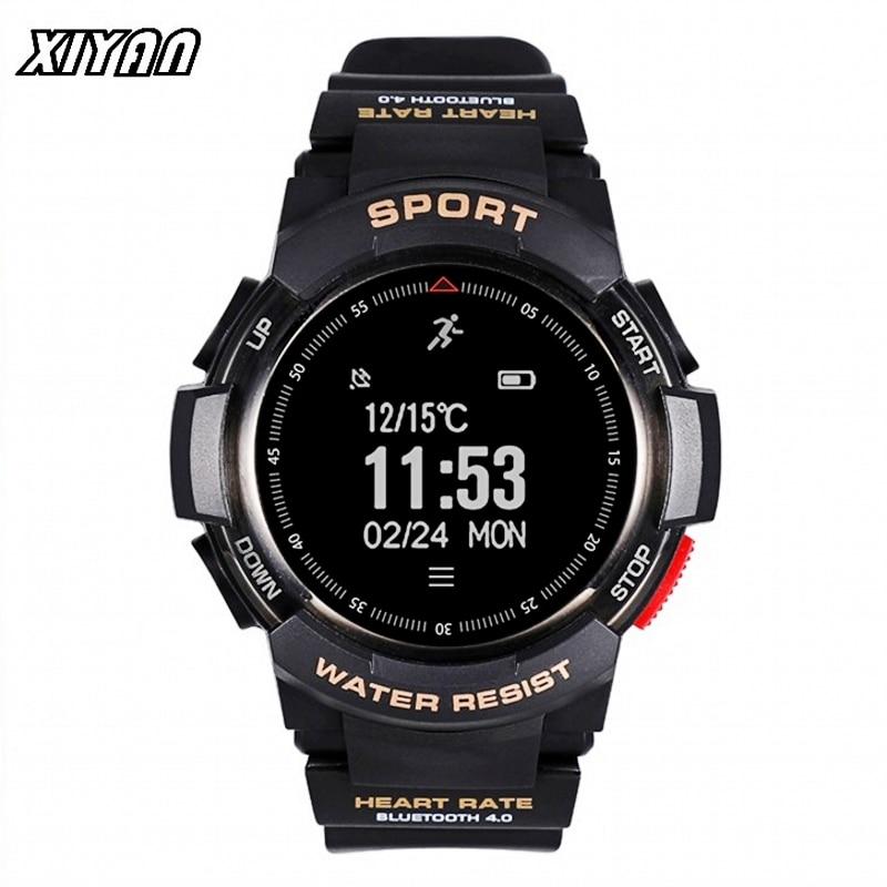 XIYAN Bluetooth F6 Smartwatch IP68 Waterproof Heart Rate Monitor Fitness Tracker Smart watch with Multi Sport Mode T50