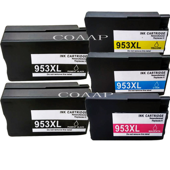 Compatible ink cartridge for hp 953 XL 953XL for HP OfficeJet Pro 8210 8710 8715 8720 8725 8728 8730 8740 All-in-One Printer