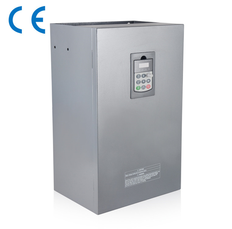 55KW 75HP 300 Гц общие vfd инвертор, преобразователь частоты 1 фаза 220 В в 3 фазы 0-380 В из 112A