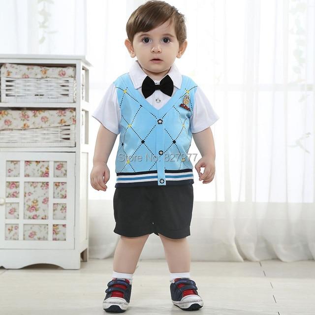 e5ae6d103 Más popular del estilo de inglaterra 0 1 2 años de edad ropa verano ...