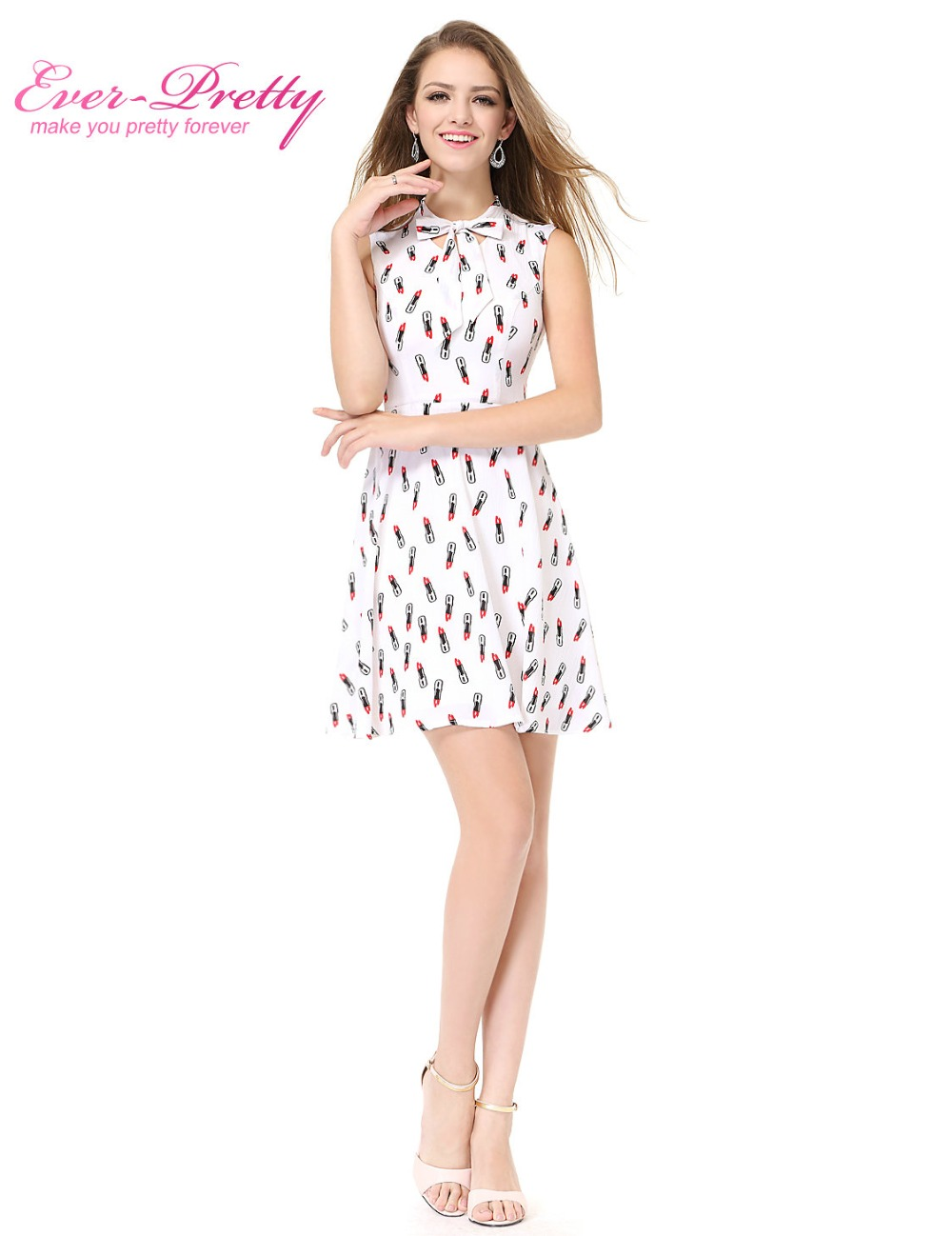 White short chiffon designer sleeveless cocktail dresses ever pretty white short chiffon designer sleeveless cocktail dresses ever pretty as05469wh 2017 women sexy summer cocktail party dresses in cocktail dresses from ombrellifo Images