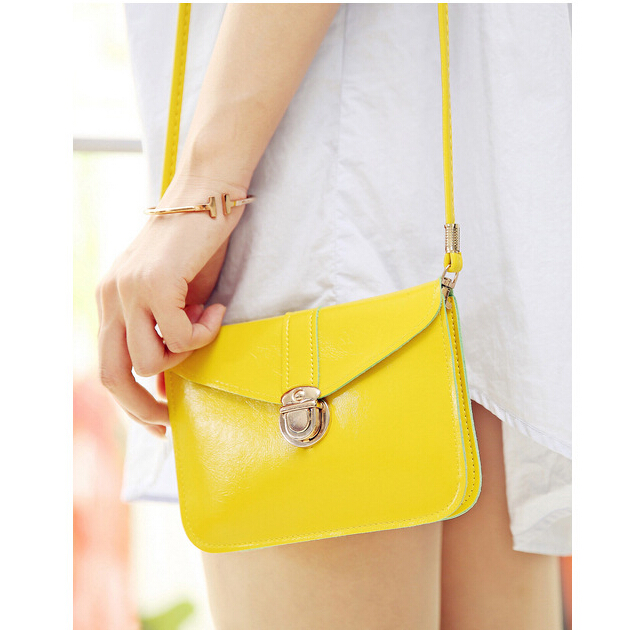 SMOOZA 2018 New arrival Women messenger bags Vintage PU leather handbag  Sweet cute Crossbody handbags Clutch messenger bags-in Shoulder Bags from  Luggage ... 89034325e9