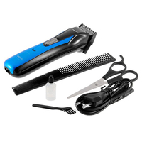 Blue New Man Children Electric Hair Trimmers Professional Rechargeable Stainless Steel Hair Clipper Beard Trimmer Machine