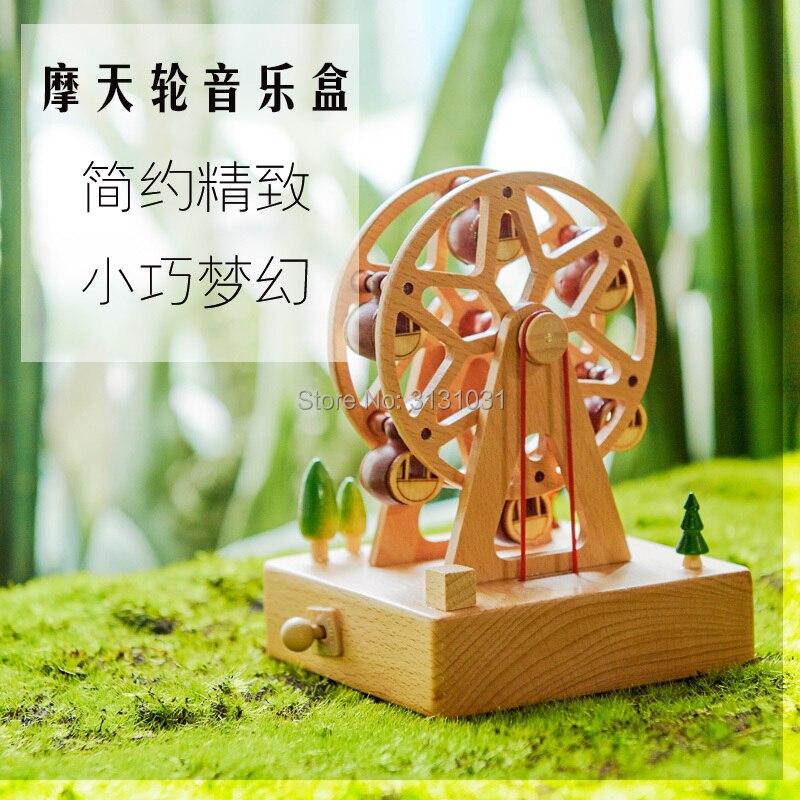 Music box of girls revolving children's birthday gift idea ferris wheel