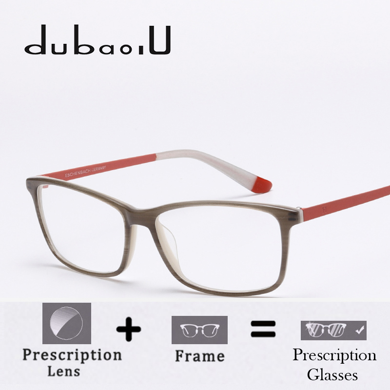 DUBAOLU Acetate Prescription Glasses Women Designer Simple Optical Computer Myopia