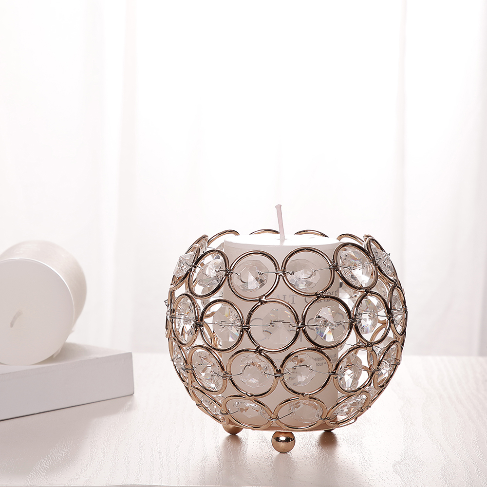Gold Candle Holders Wedding Candelabra Centerpieces Center Table ...