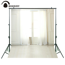 200cm*300cm(6.5ft*10ft) photography backdrops Interior window curtains backdrops LK4304 new arrival background fundo doors open flowers 300cm 200cm about 10ft 6 5ft width backgrounds lk 2673