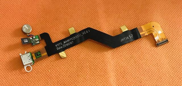Kullanılan Orijinal USB Fişi Şarj Kurulu Vernee Mars Pro MT6757T Octa Çekirdek Ücretsiz Kargo