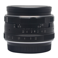 Meike MK 35mm P Large Aperture Manual Multi Coated Focus Lens APS C For Panasonic Lumix