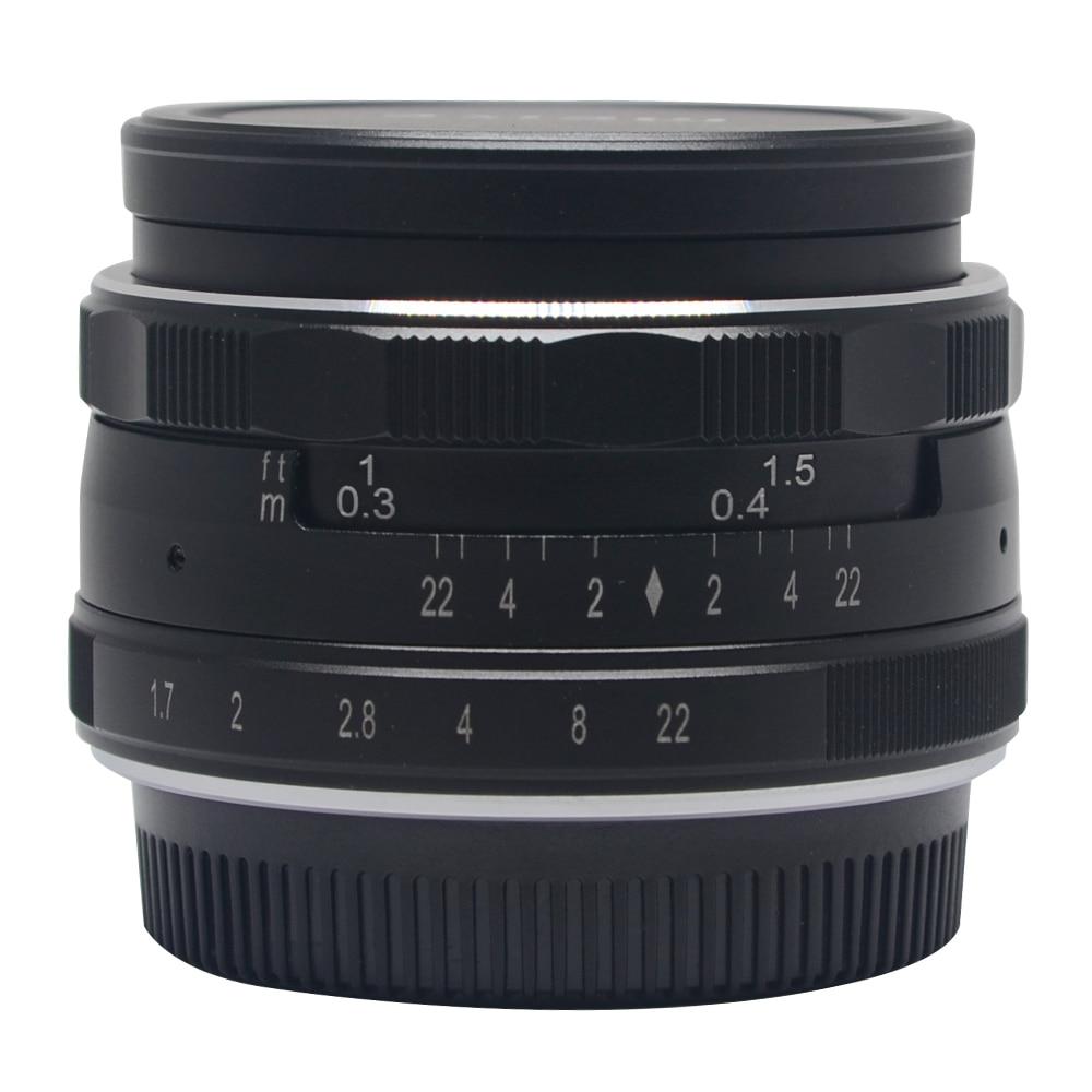 Meike MK-35mm-P large Aperture Manual Multi Coated Focus lens APS-C for Panasonic Lumix Olympus EM1 EM5 EM10 EP5 EPL3 мясорубка panasonic mk g1800pwtq