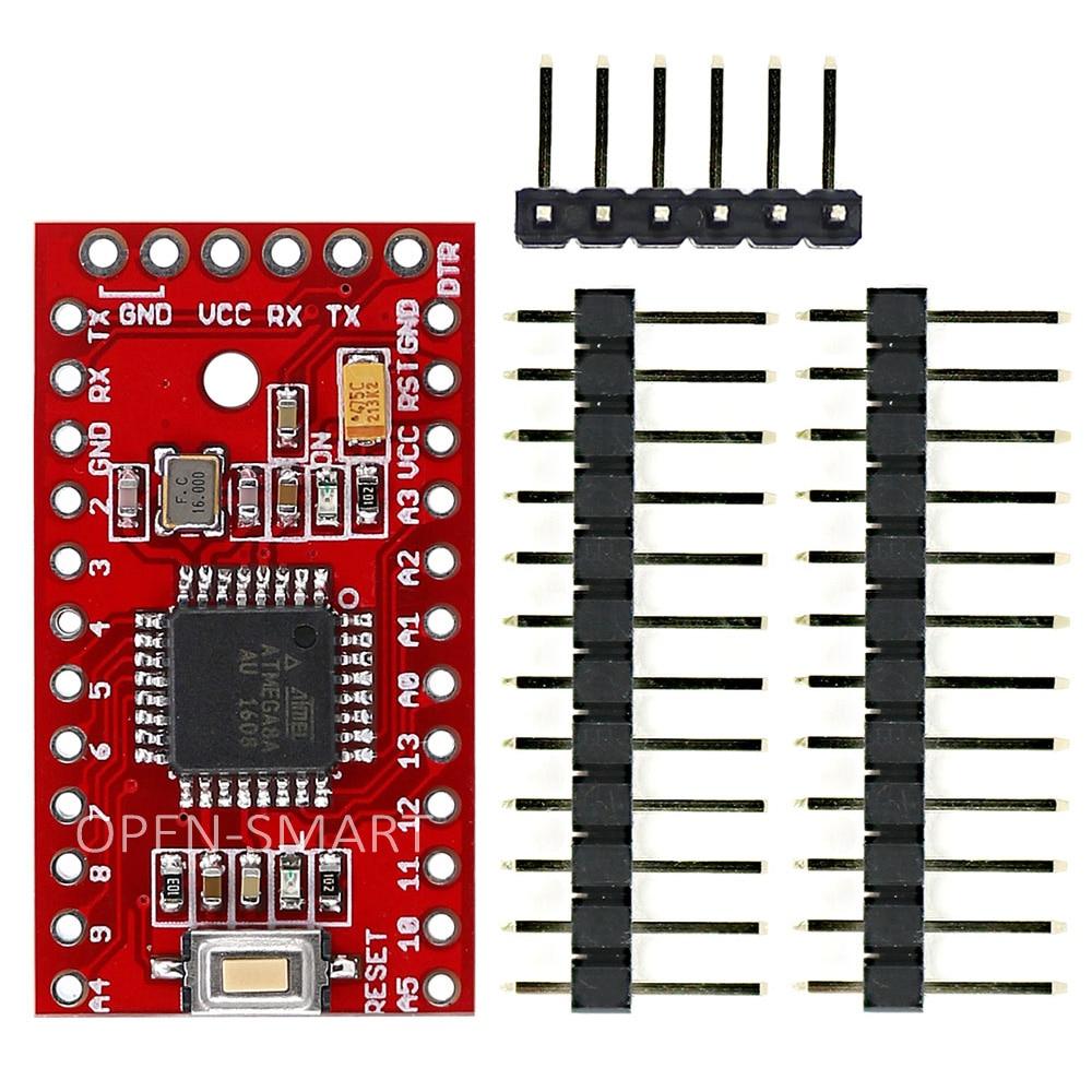 Открытым SMART Pro мини ATmega8 развитию для Arduino полезно для Тесты периферийных модуля, такие как светодио дный, зуммер, Серийный Bluetooth