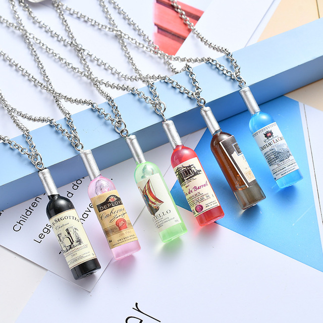 Wine Bottle Pendant