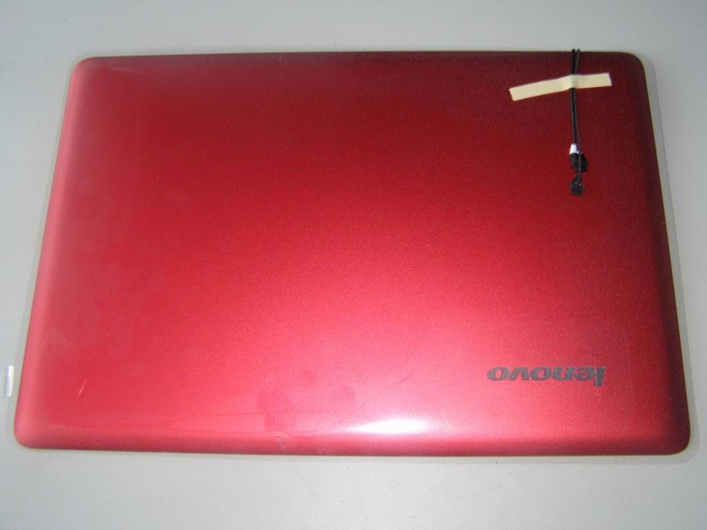 New Original for Lenovo Ideapad U410 LCD Rear Cover Screen Case Red Non touch laptop 3CLZ8LCLV70 new original orange for lenovo u330 u330p u330t touch bottom lower case base cover lz5 grey 90203121