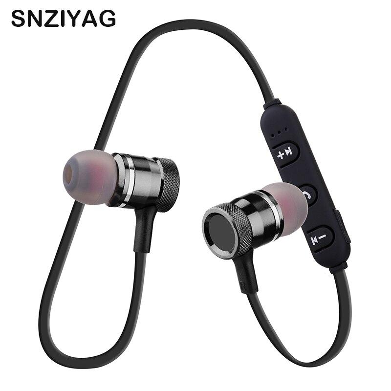 SNZIYAG LY-11 Course à Pied Stéréo Bluetooth Sans Fil Aimant Casque Écouteurs Avec Microphone Écouteur Casque Pour iPhone