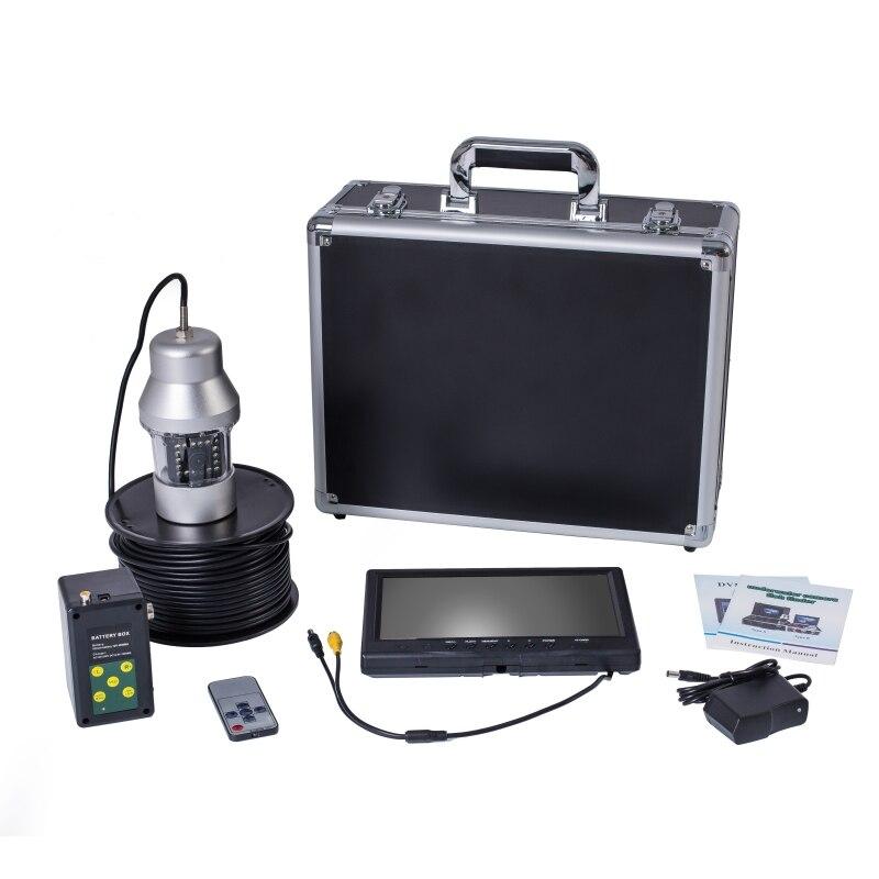 F08A 20 м/50 м/100 м кабельная камера рыболокатор подводная рыболовная камера 18 светодиодов 360 градусов вращающийся 9 дюймов ЖК-монитор