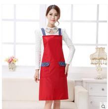 Cocina delantales de manga larga impermeable anti-aceite adulto vestido de hombres y mujeres anti-desgaste mangas de forma integrada ropa de trabajo