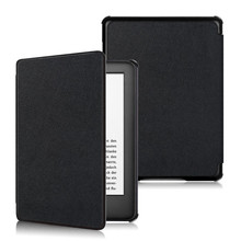 PU Stand Cover Case for Amazon New Kindle 2019 Kindle 11 11th Generation + 2Pcs Screen Protector