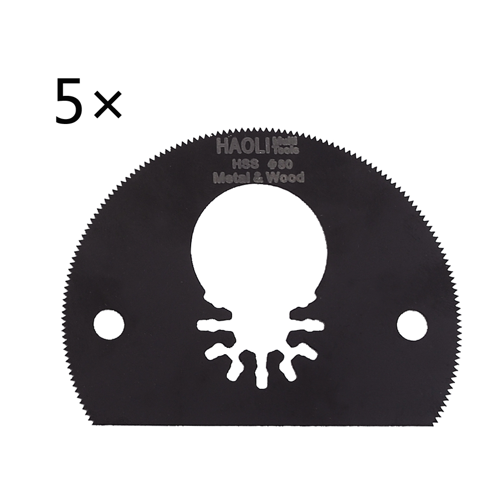 5 pcs 80mm HSS Segment saw blade fit for Makita,Fein and most brand of multi tool,wood metal cutting,oscillating tool accessory 20pack oscillating multi tool saw blade for fein multimaster makita bosch