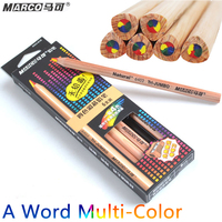 Marco 1 word 4colors nib color pencil 5b paper diy drawing school for kids gift cute.jpg 200x200