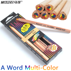 Marco 1 word 4colors nib color pencil 5b paper diy drawing school for kids gift cute.jpg 250x250