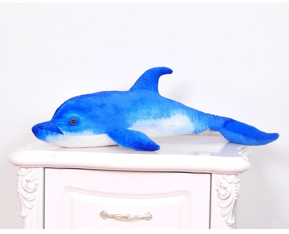 BOLAFYNIA Anak Plush Stuffed Toy Dolphin simulasi laut hewan Bayi - Boneka dan mainan lunak - Foto 6