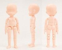 13 CM PVC Trẻ Em Phác Thảo Búp Bê Figma Q Phiên Bản Flesh Nhỏ Doanh Juguetes Di Động Mô Hình Hành Động Sơ Đ