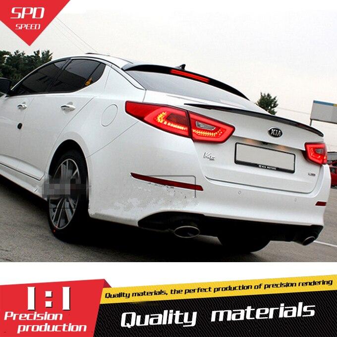 2017 Kia Optima Plug In Hybrid Exterior: For Kia Optima K5 Spoiler High Quality ABS Material Car