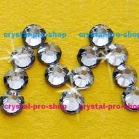 Swarovski Elements Silver Shade SSHA No Hotfix Or Hotfix Iron On Ss5 Ss34 2mm 7mm Crystal