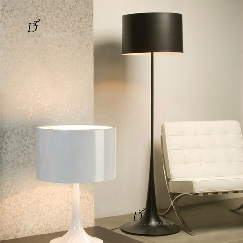 Aliexpress Buy Italian gentleman standing lamp lights modern minimalist fashion creative living room bedroom den floor fixtures from Reliable lamps