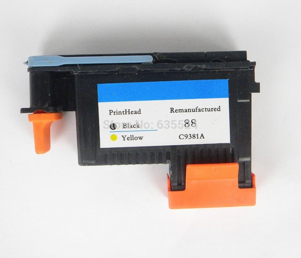 For HP88 C9381A Printhead Black / Yellow For HP L7580 7590 K