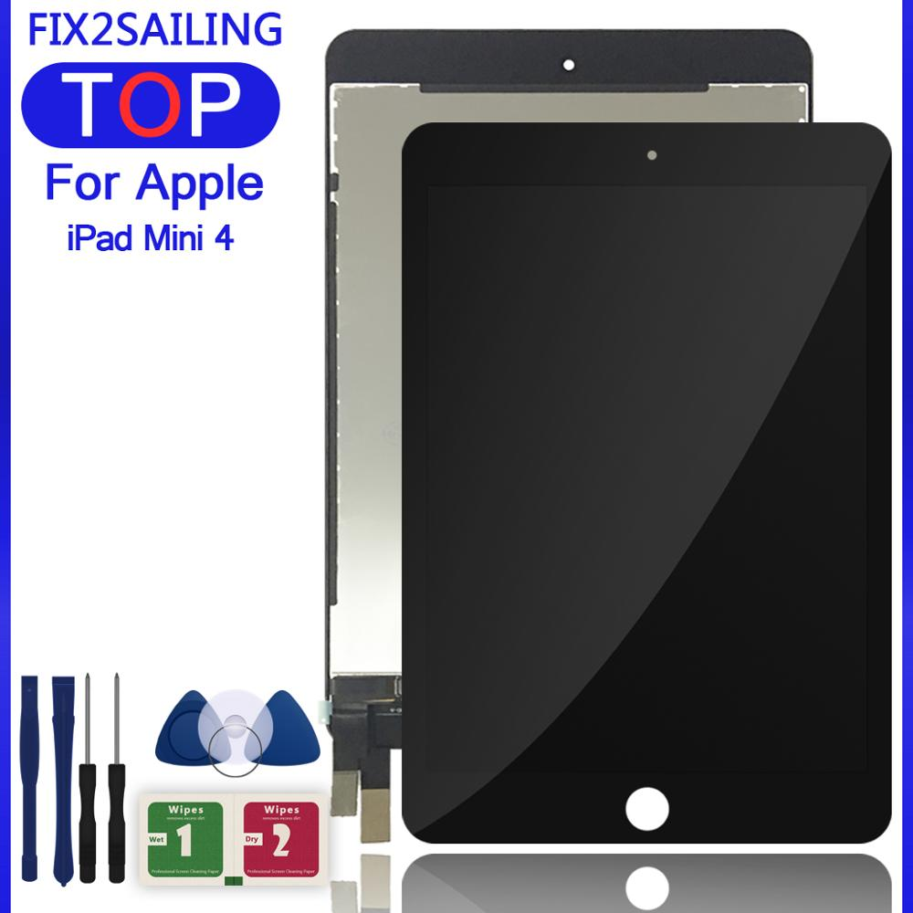 ЖК дисплей 7,9 дюйма для iPad Mini 4 A1538 A1550, сенсорный экран в сборе, сменная цифровая панель|ЖК-экраны и панели для планшетов|   | АлиЭкспресс