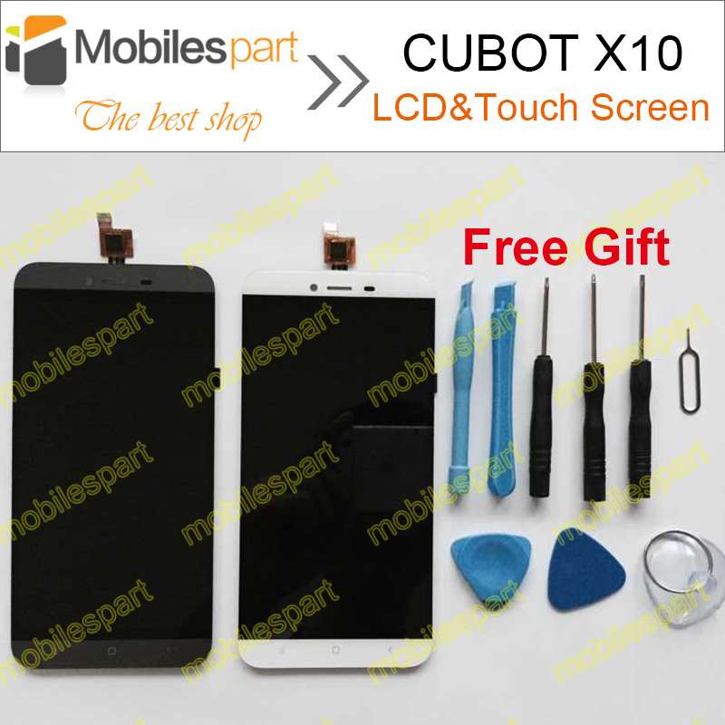 ФОТО CUBOT X10  LCD Screen 100% Original LCD Display +Touch Screen Assembly Replacement For CUBOT X10 Smartphone Free Shipping