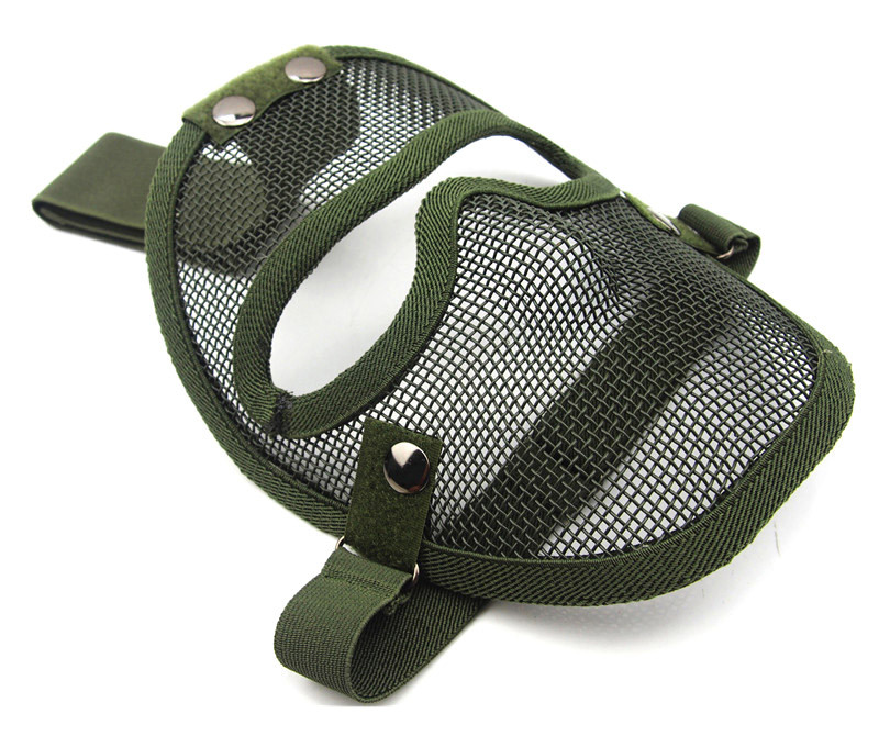 Hot sale Tactical airsoft Full face strike metal mesh V4 airsoft war game face mask free shipping