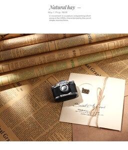 Image 2 - 7 pz/set Nostalgico Giornale Inglese Stile Europeo 52*75 cm Fotografia Carta di Sfondo per la Foto In Studio Ornamenti Puntelli