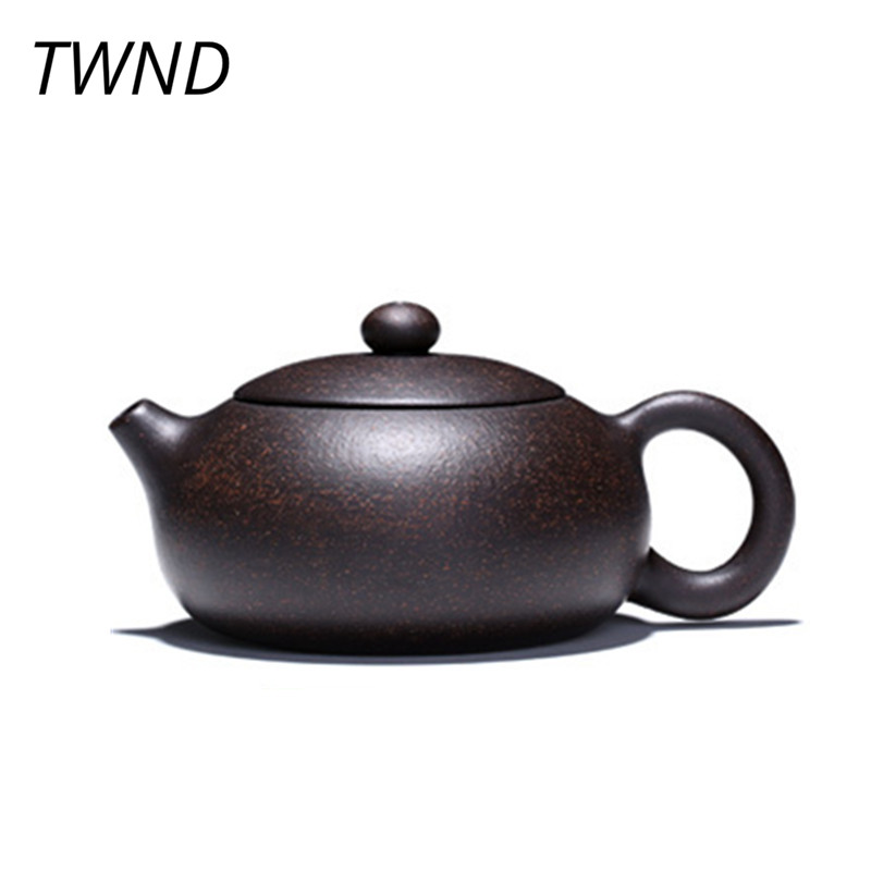 200CC yixing Xi Shi teapot Chinese kung fu tea pot handmade zisha kettle purple clay drinkware with gift box suit Oolong Puer