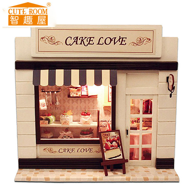 24th DIY Wooden Handcraft Doll House 3D Model Kit- Miniatures  &English instruction&Furniture X'mas Gift