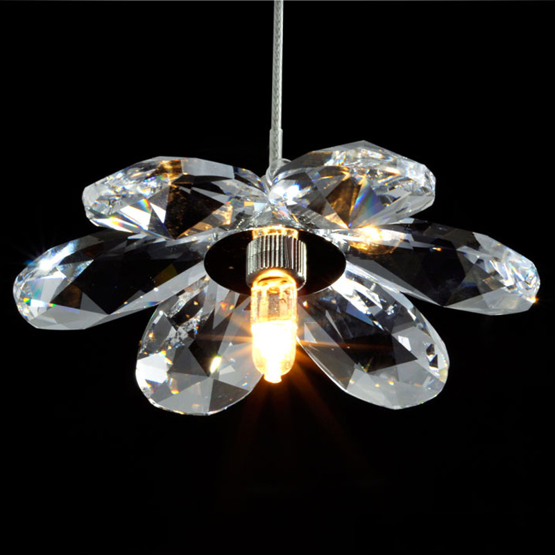 Art Deco elegant top K9 crystal pendant lights contemporary clear crystal suspension LED pendant lamp for home decor victoria charles art deco