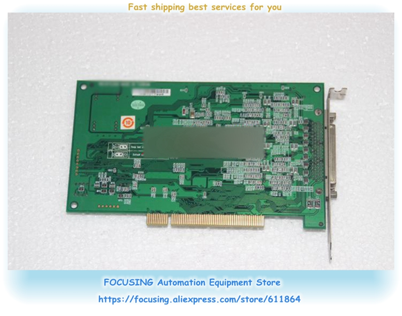 PCI-1723 REV: A1 capture card 16-bit 8-way non-isolated analog output card industrial motherboardPCI-1723 REV: A1 capture card 16-bit 8-way non-isolated analog output card industrial motherboard