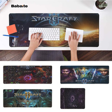 Babaite New Arrivals starcraft 2  Natural Rubber Gaming mousepad Desk Mat PC Computer