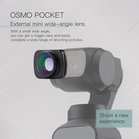 external mini wide angle lens Magnetic adsorption fixed for dji osmo Pocket camera Handheld gimbal Accessories