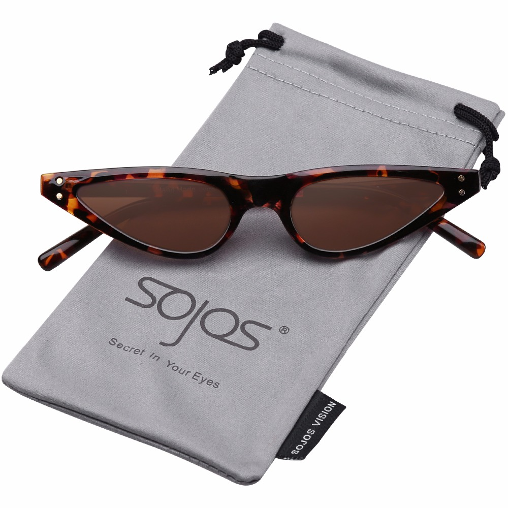 273f5d510c9 SOJOS Designer Red Small Frame Cat Eye sunglasses Woman Brand High Quality  2017 Leopard Vintage Eyeglasses Shades UV400 SJ2046-in Sunglasses from  Apparel ...