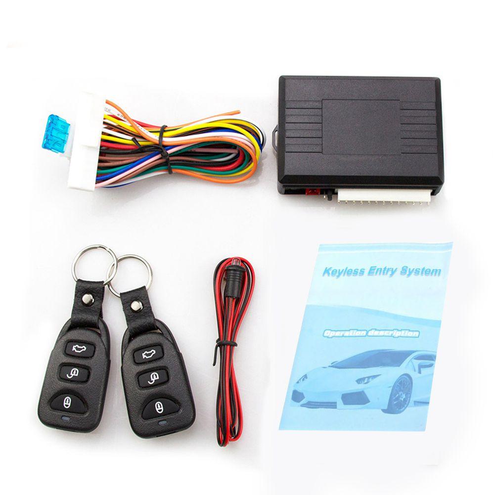 Universal Auto Alarm Systeme Auto Remote Zentrale Kit Türschloss Keyless Entry System Zentral Verriegelung mit Fernbedienung