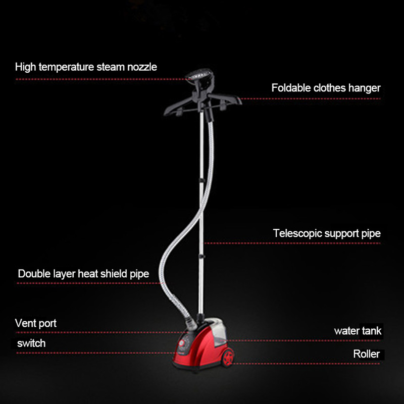 ITAS1215 Steam household mini electric iron hanging machine wholesale laundry appliance garment steamers portable in Steam Presses from Home Appliances
