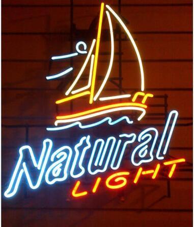 Custom NATURAL LIGHT Neon Light Sign Beer Bar