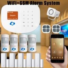 Chuangkesafe Chuangkesafe WIFI/GSM Antirrobo Interder/Sistema de Alarma para la Seguridad Casera Android/IOS APP Para la Oficina En Casa fábrica